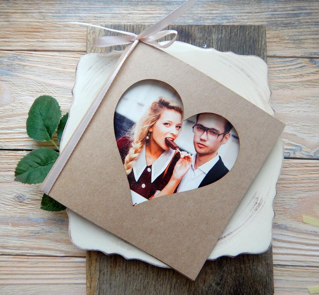 Zaproszenia ślubne Serce Peoni Polka Studio